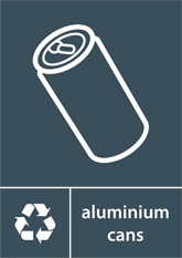 Aluminium Cans Recycling A4 Downloadable Signage