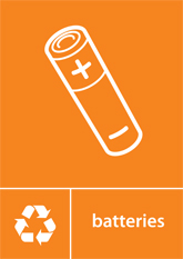 Batteries Recycling A4 Downloadable Signage