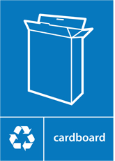 Cardboard Recycling A4 Downloadable Signage