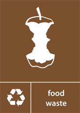 Food Waste Recycling A4 Downloadable Signage