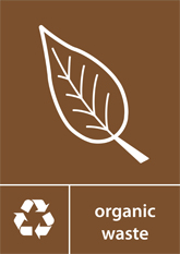 Organic Waste Recycling A4 Downloadable Signage