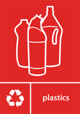 Plastics Recycling A4 Downloadable Signage