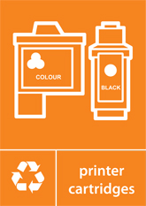 Printer Cartridges Recycling A4 Downloadable Signage