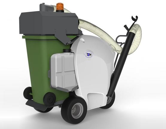 Wheelie Bin Cleaning >> Aria 240 Urban Litter Vacuum