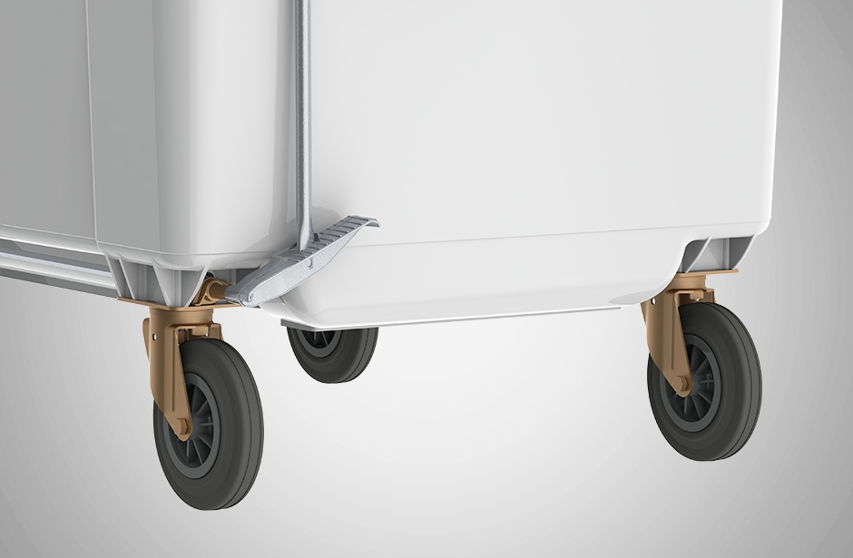 Wheelie Bin Wheels Systems